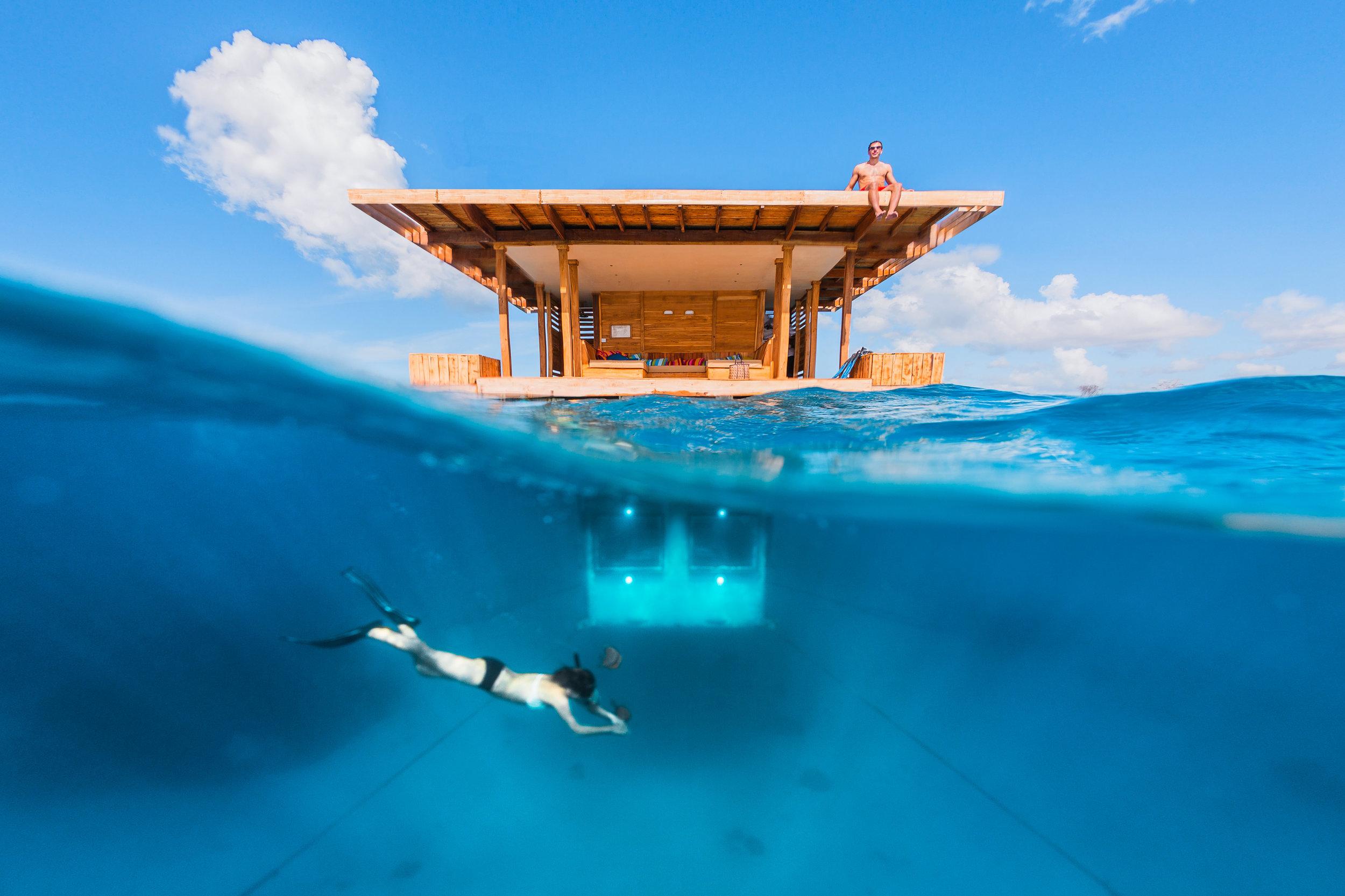 Photo property of the Manta Resort
