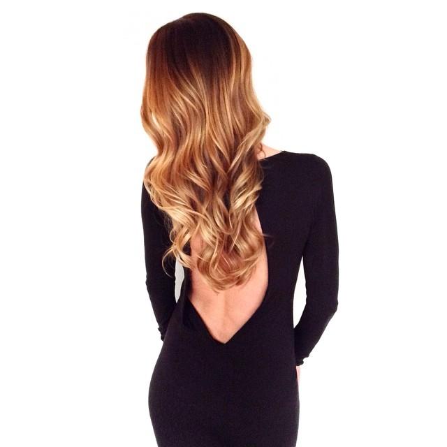 💙 @harlowpotamus! Miss YOU and your lovely #hair! #hairtalk #ombre #balayage #foils #rootyblonde #Longhealthyhair #blonde #shine #olaplex #mechesalon #mechesalonla #LAhair #beverlyhillshair #sexyhair #chrisgreenehair @mechesalonla