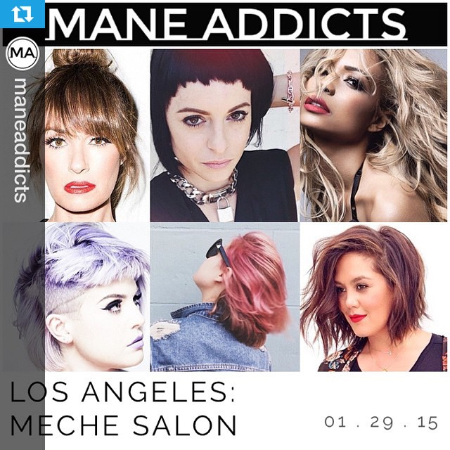 #Repost @maneaddicts with @repostapp.・・・Are you following @mechesalonla yet?? We've got the scoop on @traceycunningham1 and Neil Weiss' stunning #beverlyhills salon || link in bio.
