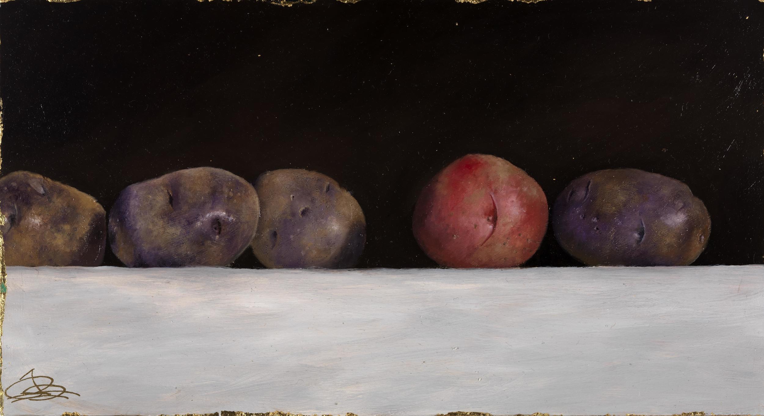 New Potatoes, Lala's Garden, VT