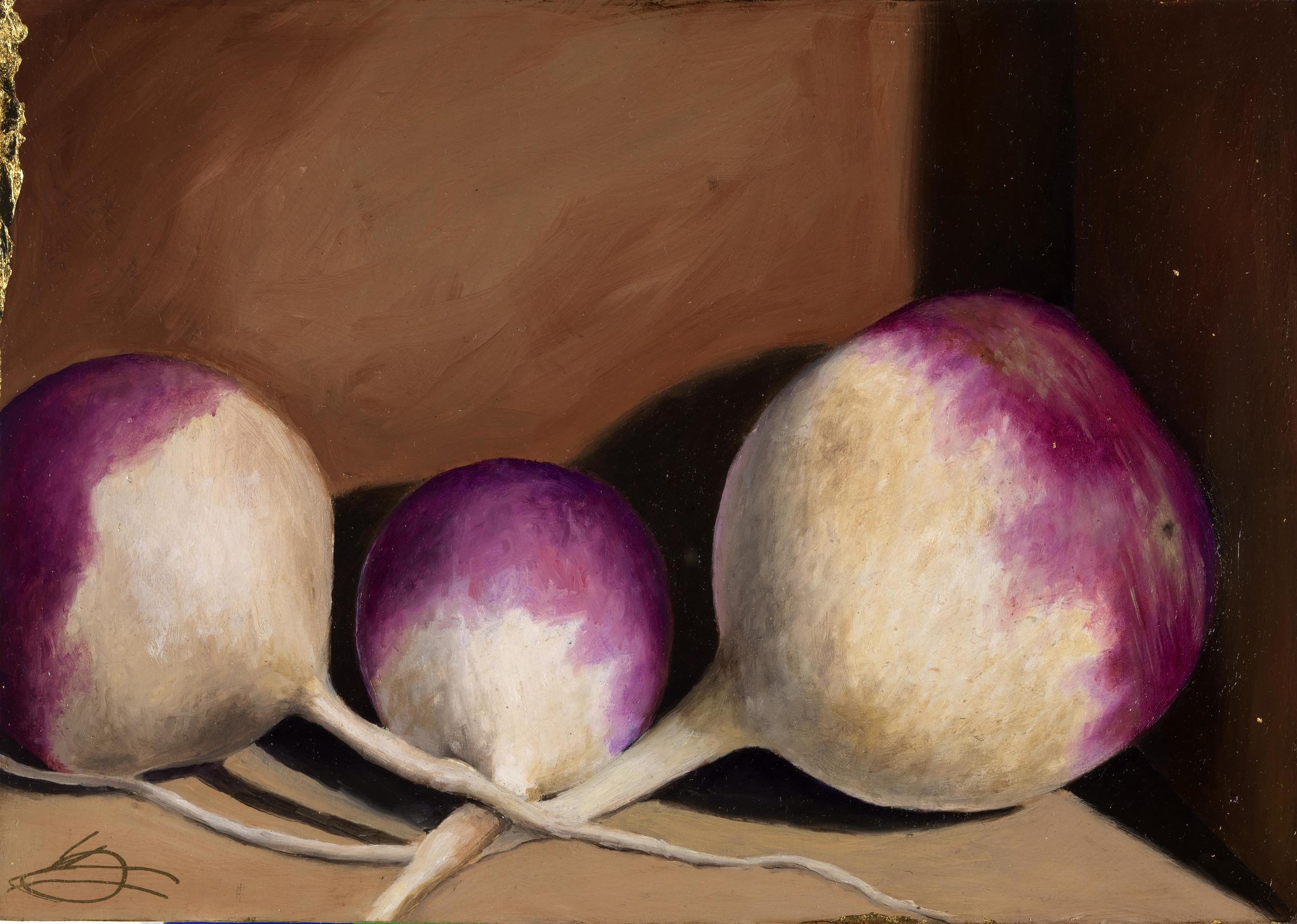 Purple Top Turnips, Harlow Farm, VT