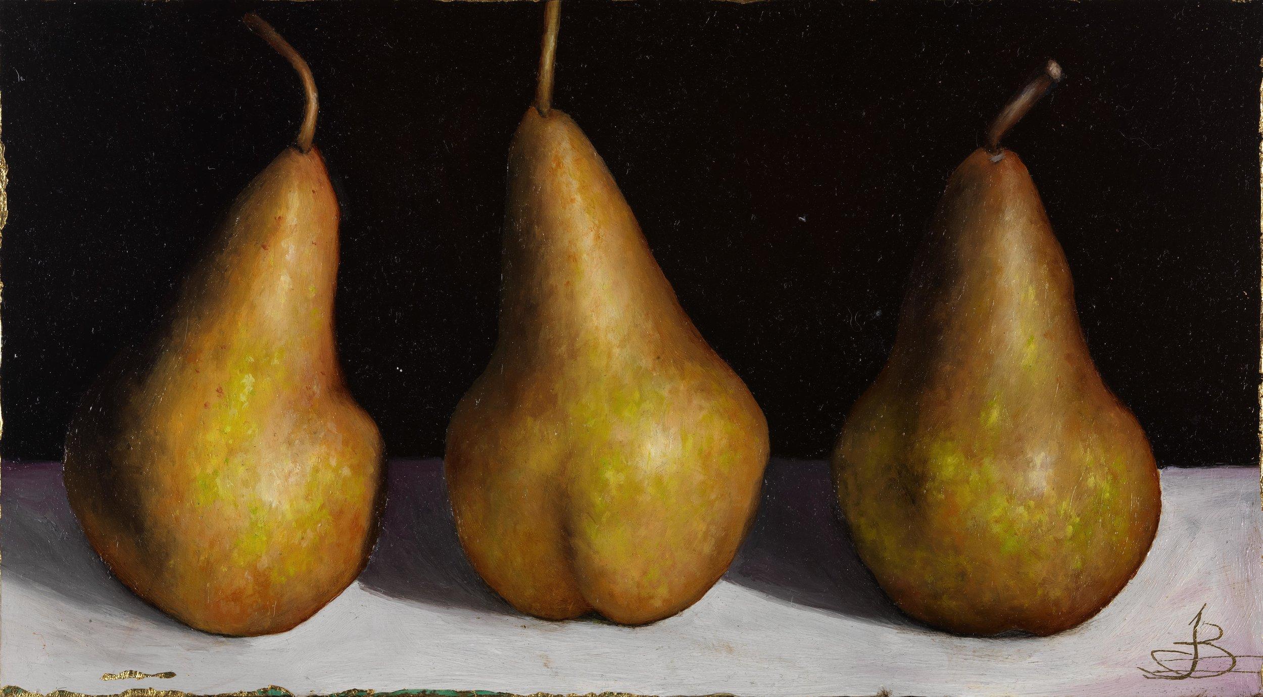 3 Bosc Pears
