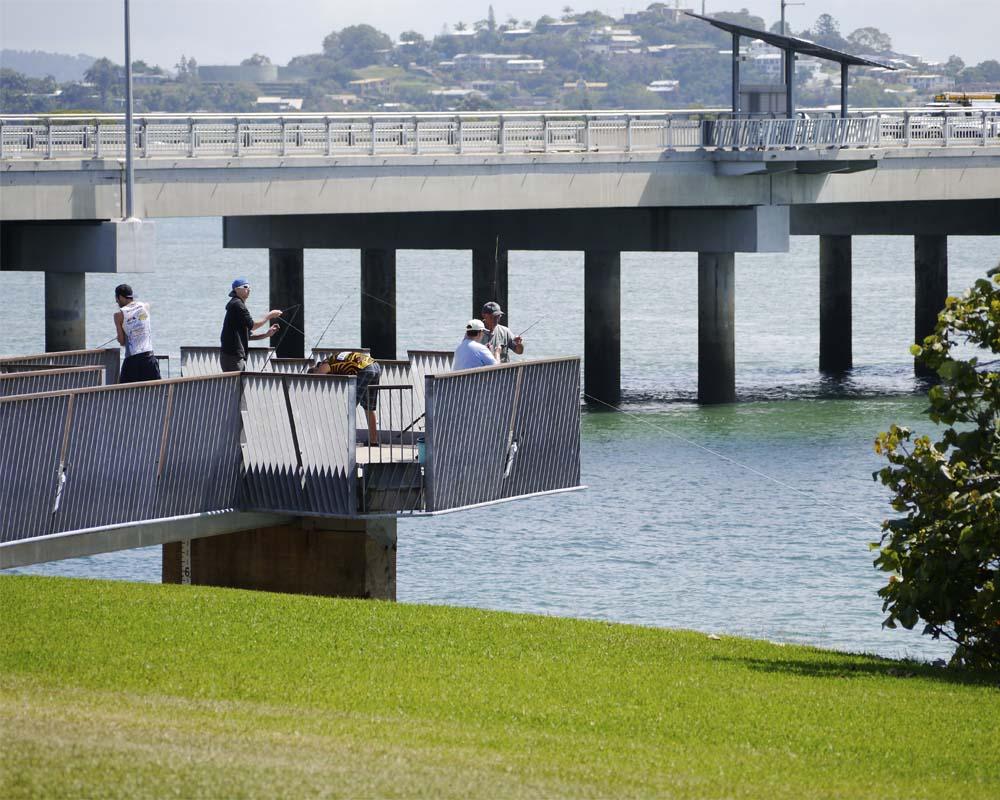 New inner-city fishing platform.