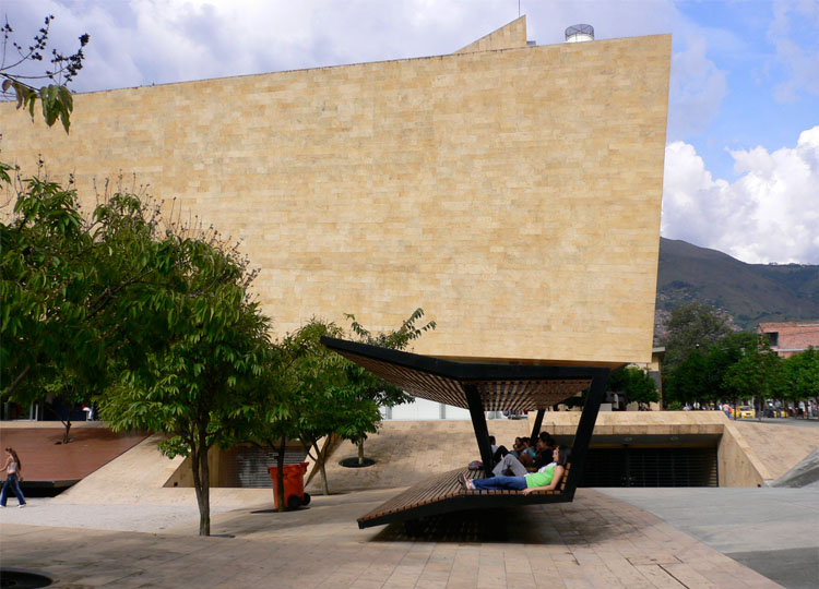 6. Parque de los Deseos: a park designed for shade