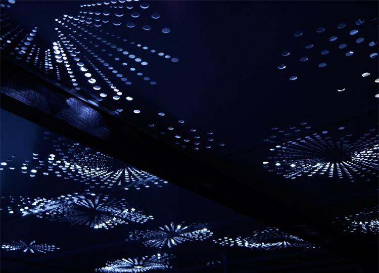 7. The Garland Garden Ceiling: a starry night