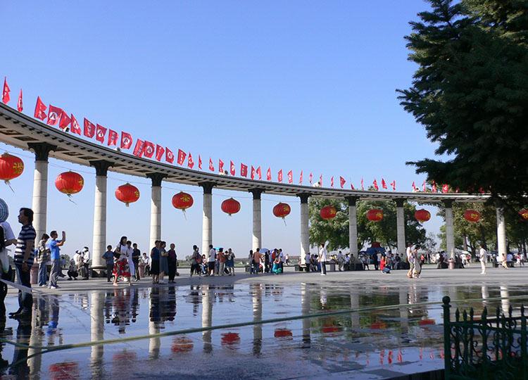 The Flood Control Monument, Harbin.