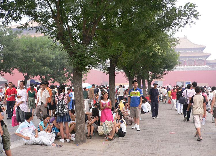 Big-scale patience: Forbidden City, Beijing.