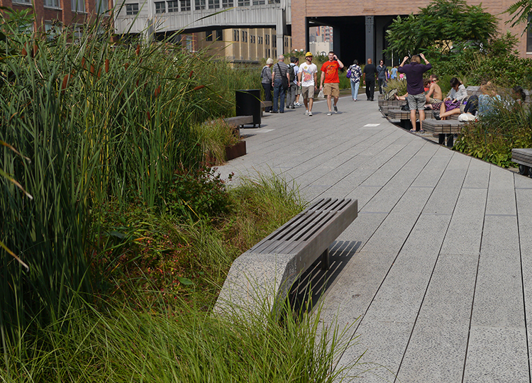 The High Line, New York City.