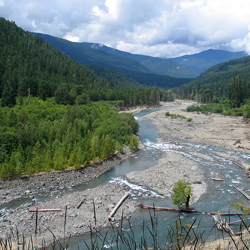 Image: The Elwha River, Jeff Taylor via Wikimedia Commons under CC license.