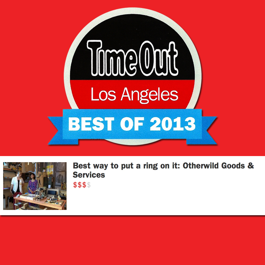 TIME OUT LA     Best of 2013