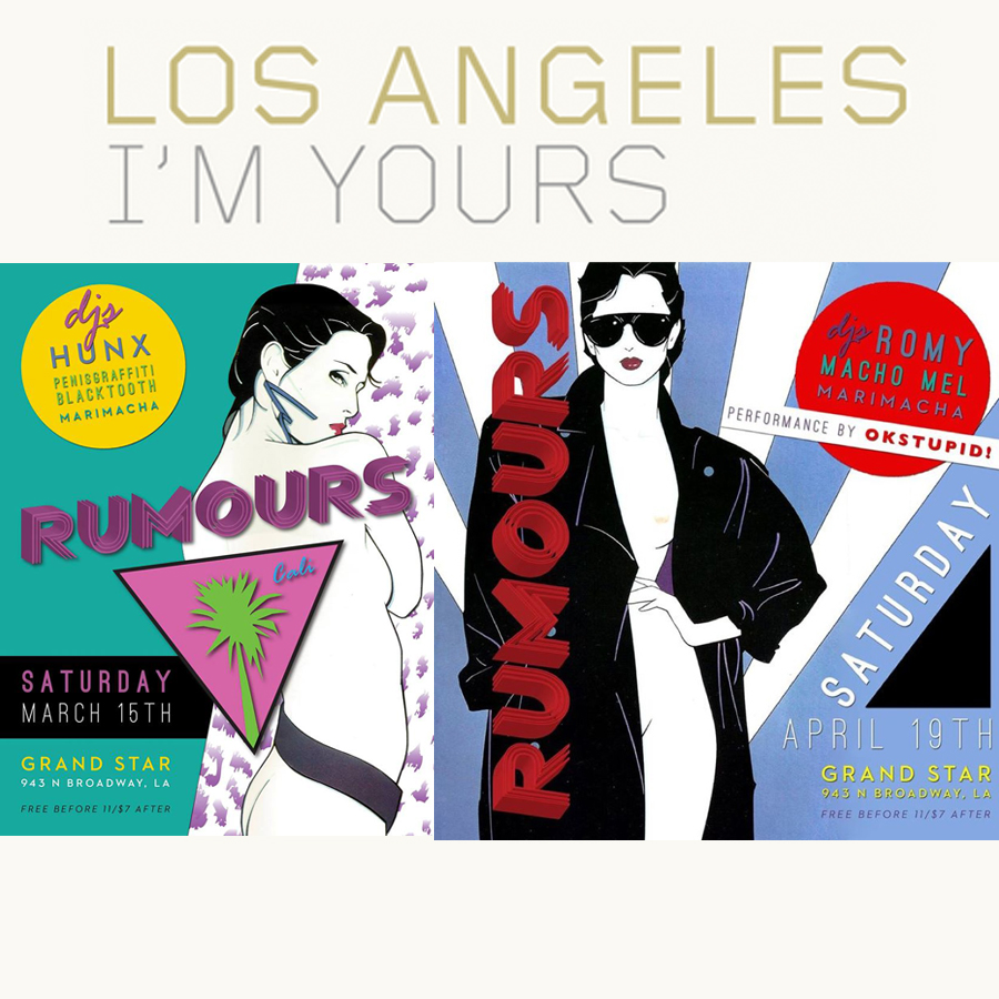 LOS ANGELES I'M YOURS      Rumours Comes to LA