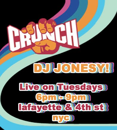 Come get fit with me @ the flagship Crunch Gym in NOHO!! Tuesdays from 6pm - 9pm.     Lafayette & 4th St. NYC