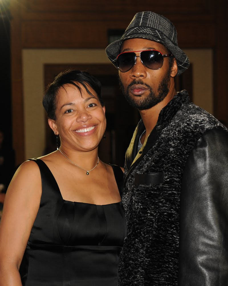 A real quick photo of the mother of all mothers... MY MOTHER! Alongside  RZA  aka Bobby Digital aka Robert Fitzgerald Diggs of the  Wu Tang Clan . Photo was taken somewhere in  China , that's how we do!