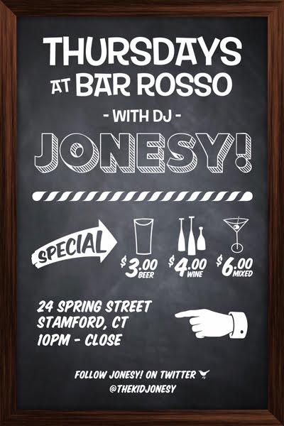 Each & Every  Thursday  it goes down S-TOWN @  Bar Rosso  . Flyest Music In Town.   24 Spring St. Drink Specials. 10 pm - Close