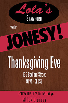 Tomorrow night!! Wednesday 11-23-11, I do it for my city @  Lola's  135 Bedford Street. I already know all of Stamford is gonna be twisted... it's gonna be a night to remember.