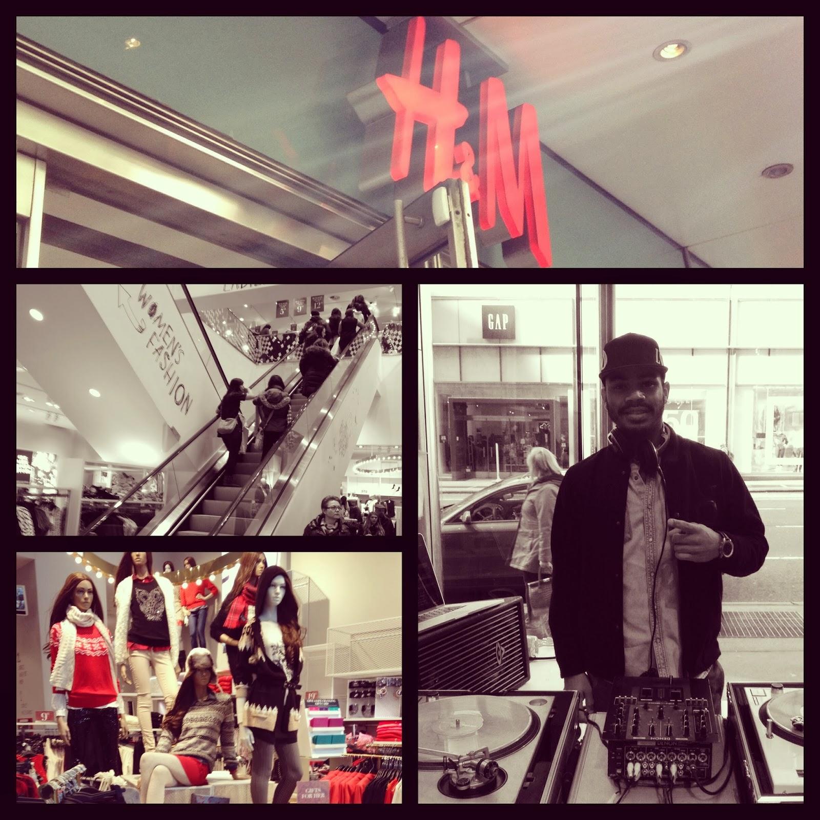 H & M - Midtown NYC   59th & Lexington  Friday, Nov. 29th  12pm-6pm   Black Friday Shopping Event   Feat. JONESY  #ScratchEvents
