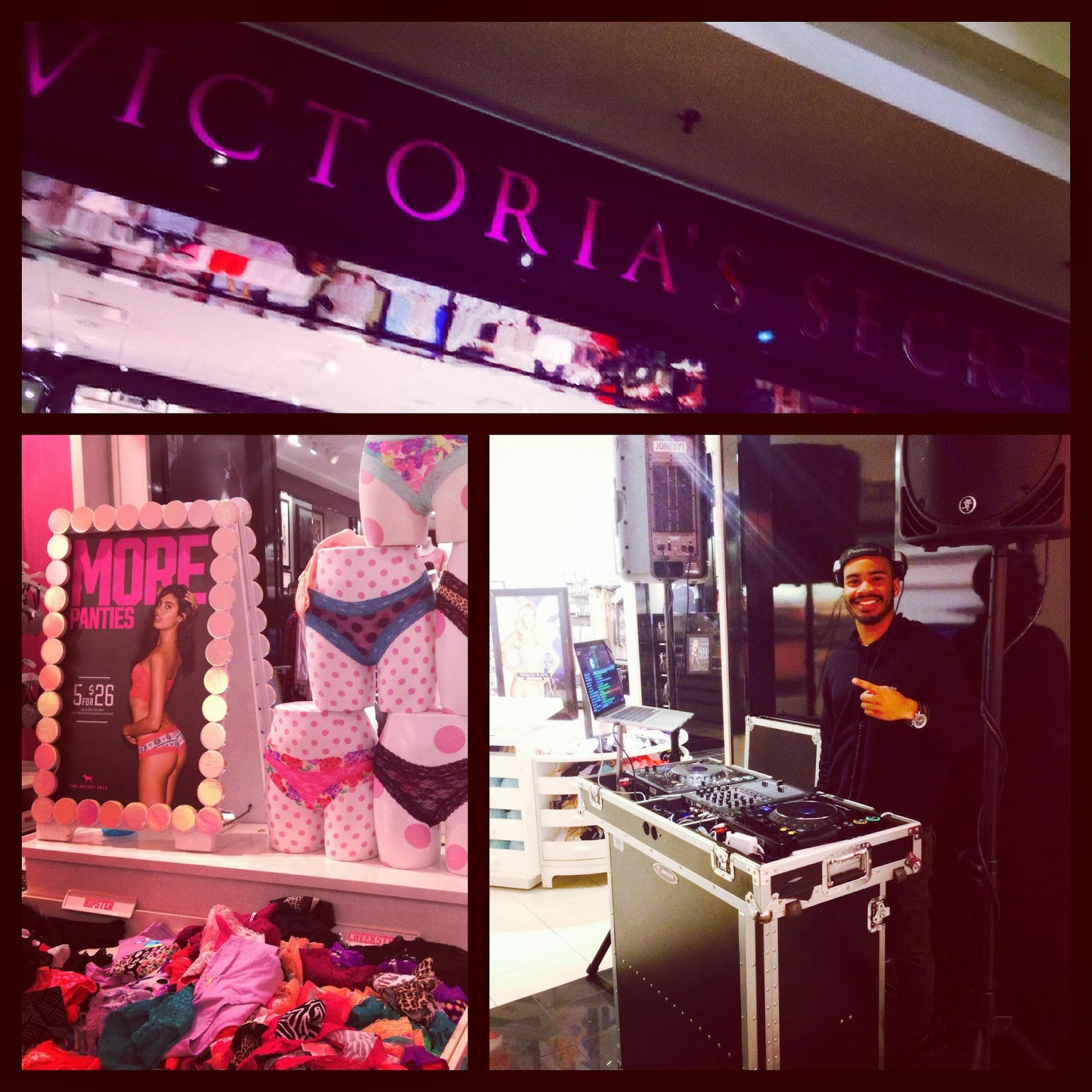 Sunday, Dec. 8th brought me to Victoria's Secret of Milford CT for their holiday shopping event.    #ScratchEvents    @ScratchEventsDJs