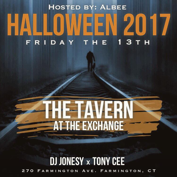 Friday, October 13th join us at  Tavern at the Exchange  as we through one HELL of a party!! Hosted by  Albee  & music by  Tony Cee  & yours truly! Party starts at 9:30pm, don't miss out!!   FACEBOOK EVENT