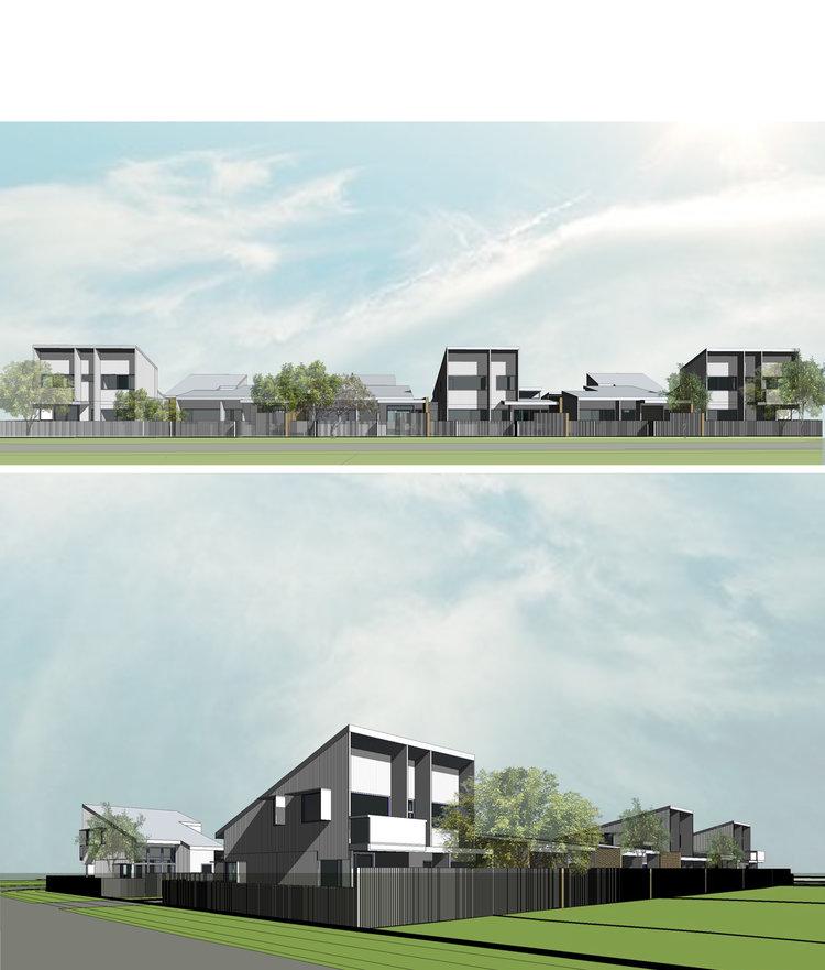 small lot housing seaside