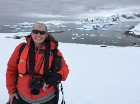 shelley in antarctica on the homeward bound women in science leadership expedition