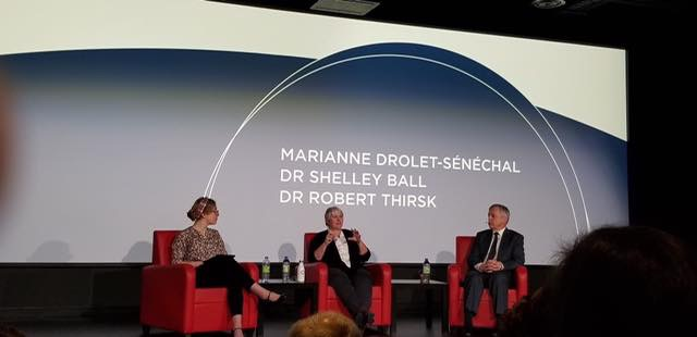 Our panel discussion on failure at the museum of science and technology in ottawa in november 2018.