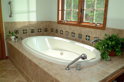 Custom Tub Surround
