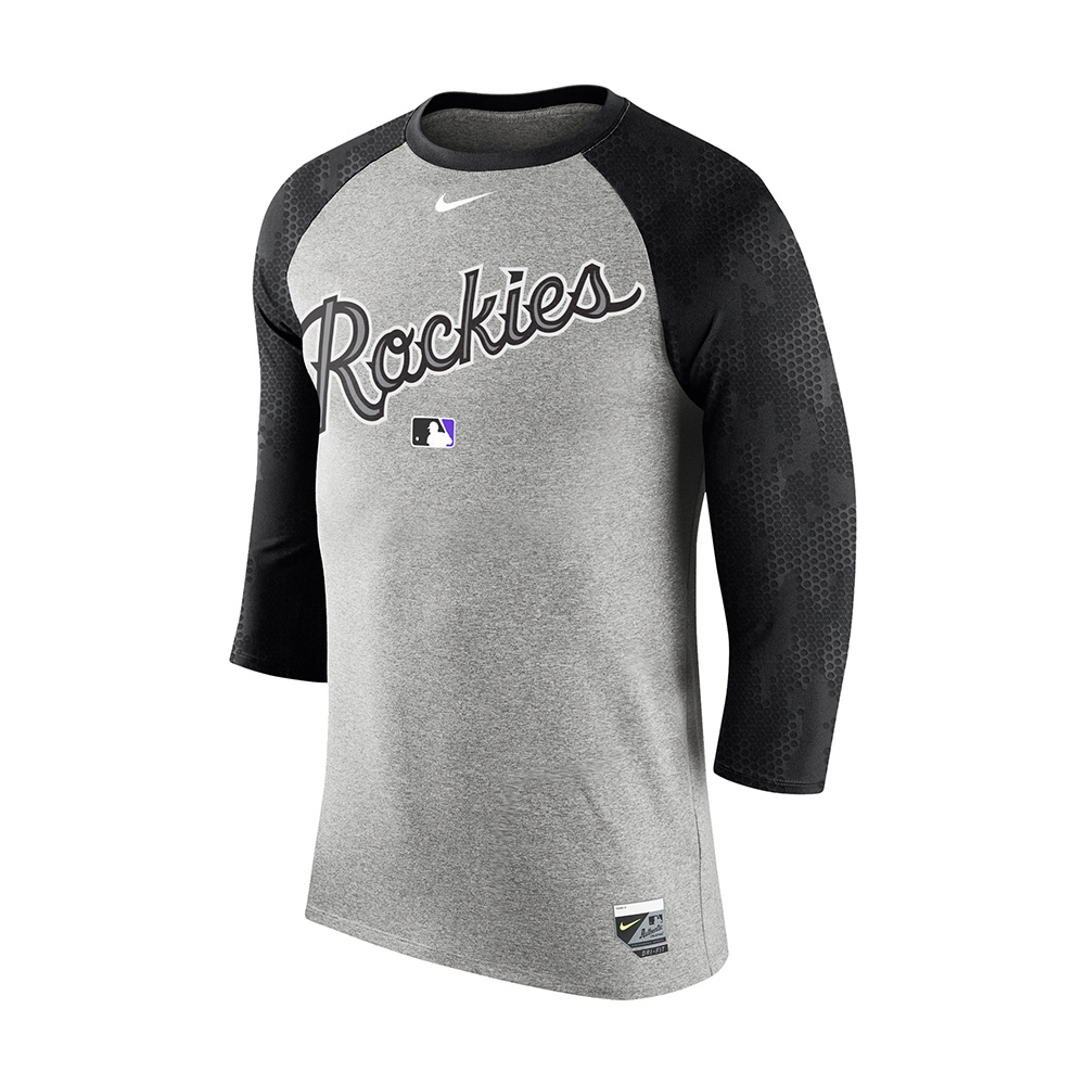 Nike_Legend Three-Quarter Sleeve Raglan T-Shirt_Rockies.jpg