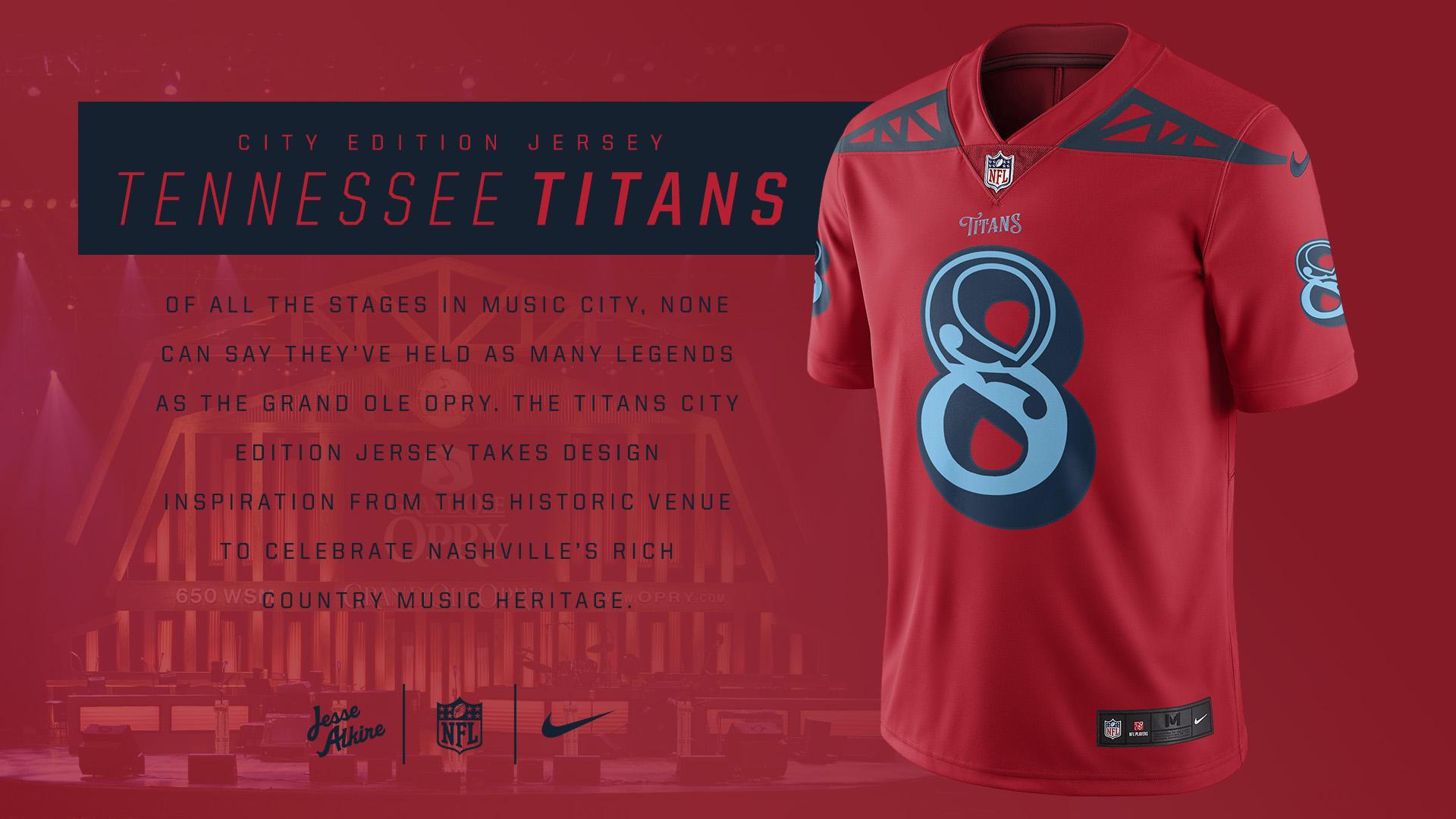 best loved aeece edf93 Jesse Alkire | NFL City Edition Jerseys