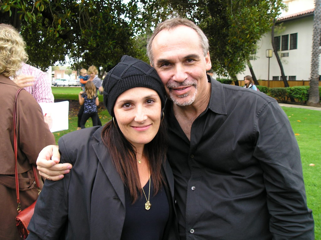 Dr. Stu with Ricki Lake