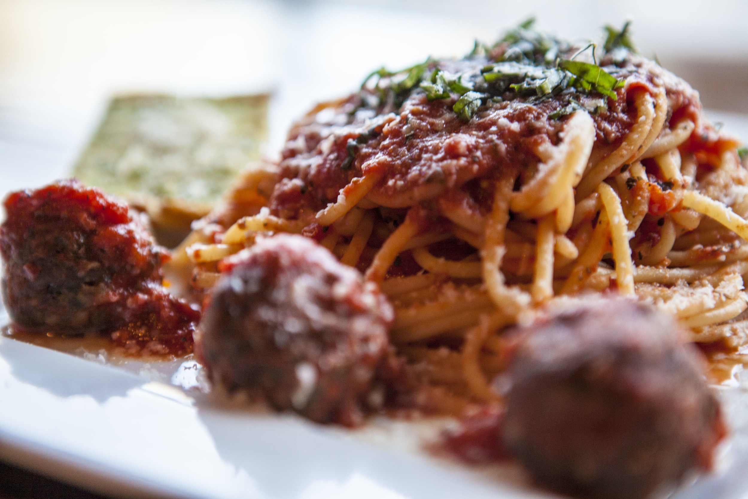 S paghetti With Meatballs - YUM!