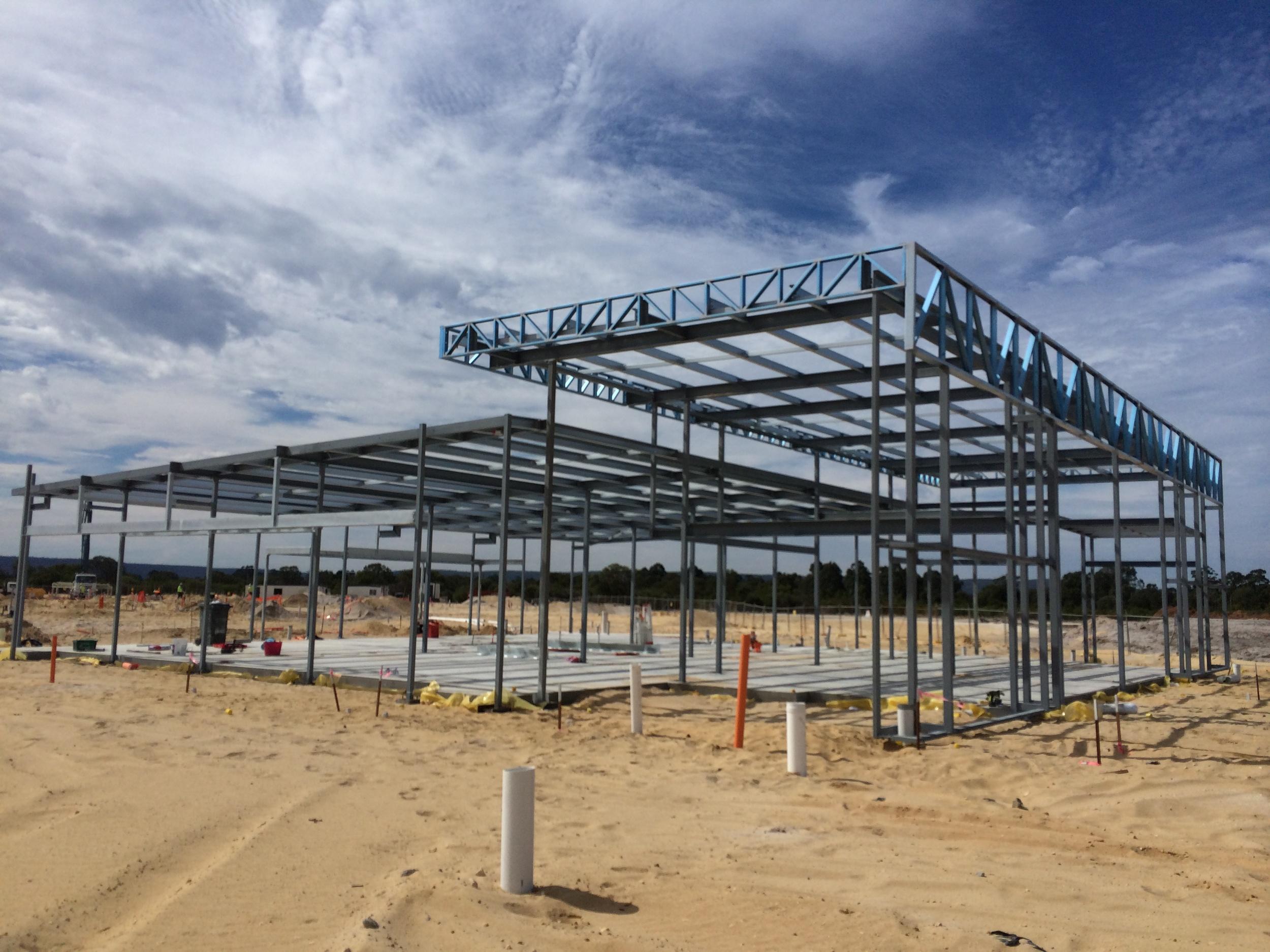 Administration Building Steel Work