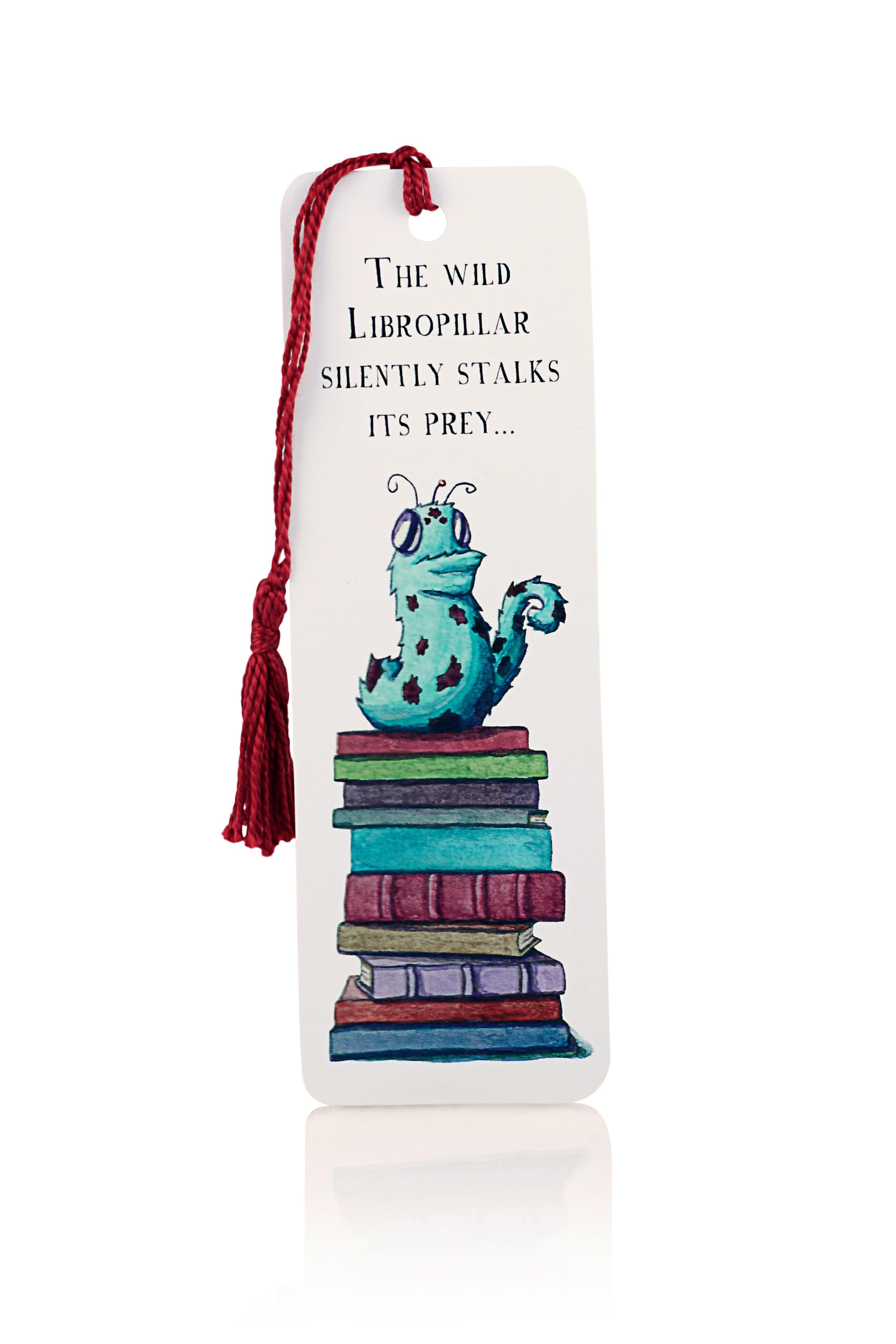Libropillar Bookmark