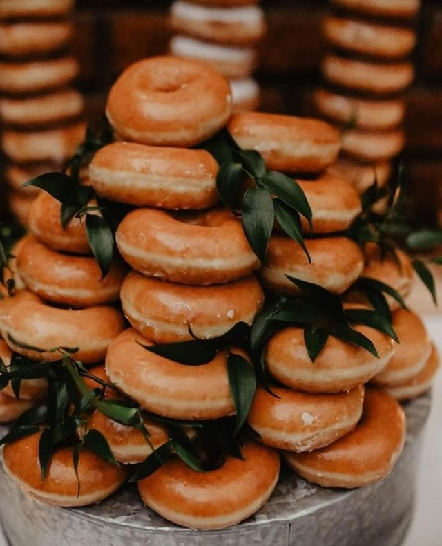 #donutcake makes the world a very happy place!⠀ ⠀ Photographer: @charitylikesbeards⠀ Coordination: @tohaveweddings⠀ Venue: @eladobedecapistrano⠀ Desserts: @krispykreme⠀ .⠀ ⠀ .⠀ .⠀ .⠀ .⠀ #wedding #livethelittlethings #weddinginspiration #stylemepretty #weddingphotography #weddingplanning #oncewed #theknot #bride #groom #weddingcoordinator #weddingcoordination #junebugweddings #ocweddings #engaged #engagement #fiance #instagood #thatsdarling #love #engagementphotos #orangecountyweddingplanner #weddingchicks #reception #ceremony #socalbrideblog⠀
