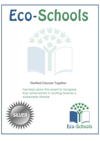 Silver award    Congratulations to everyone is has contributed to us achieving our silver award!
