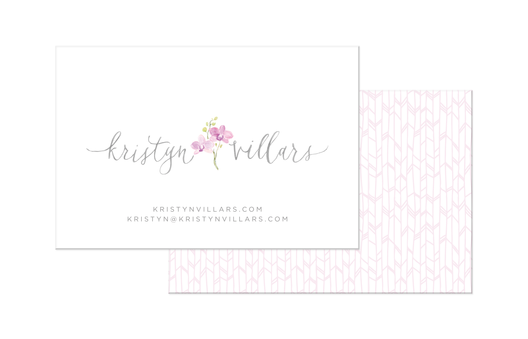 Kristyn Villars Photography - business card