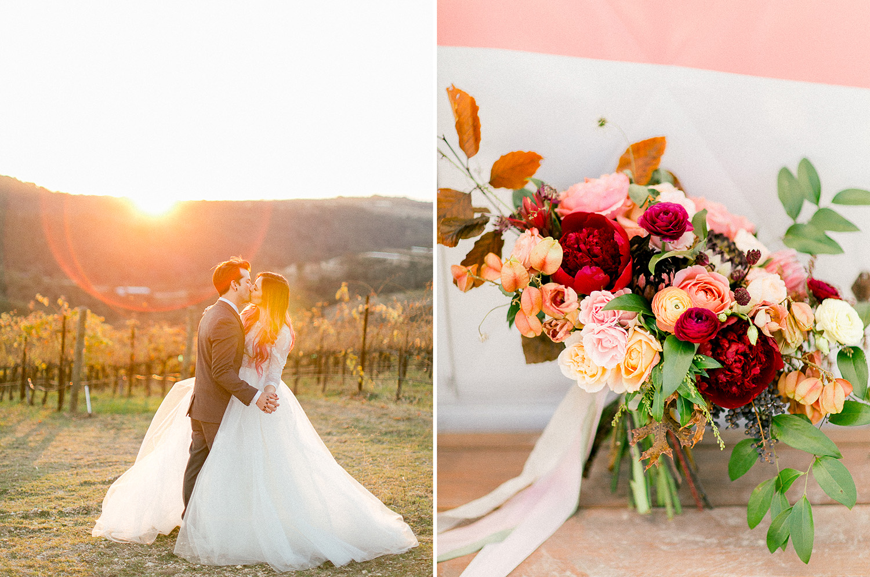 vineyard wedding kristyn villars photography