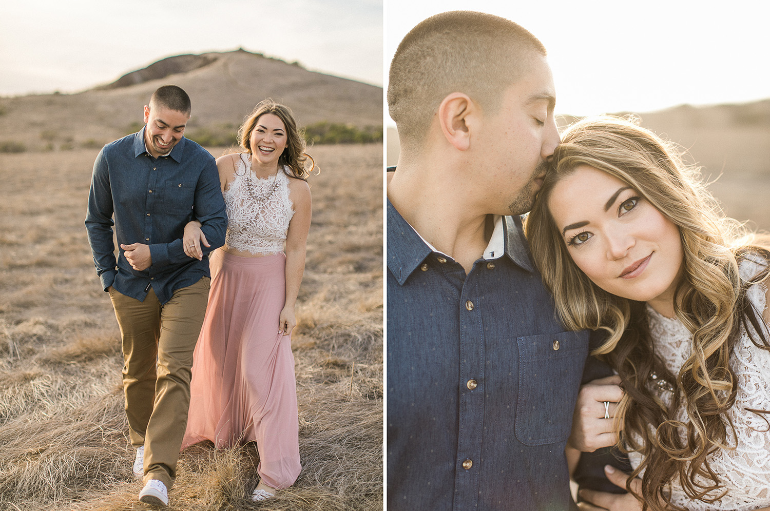 cayucos beach engagement kristyn villars photography