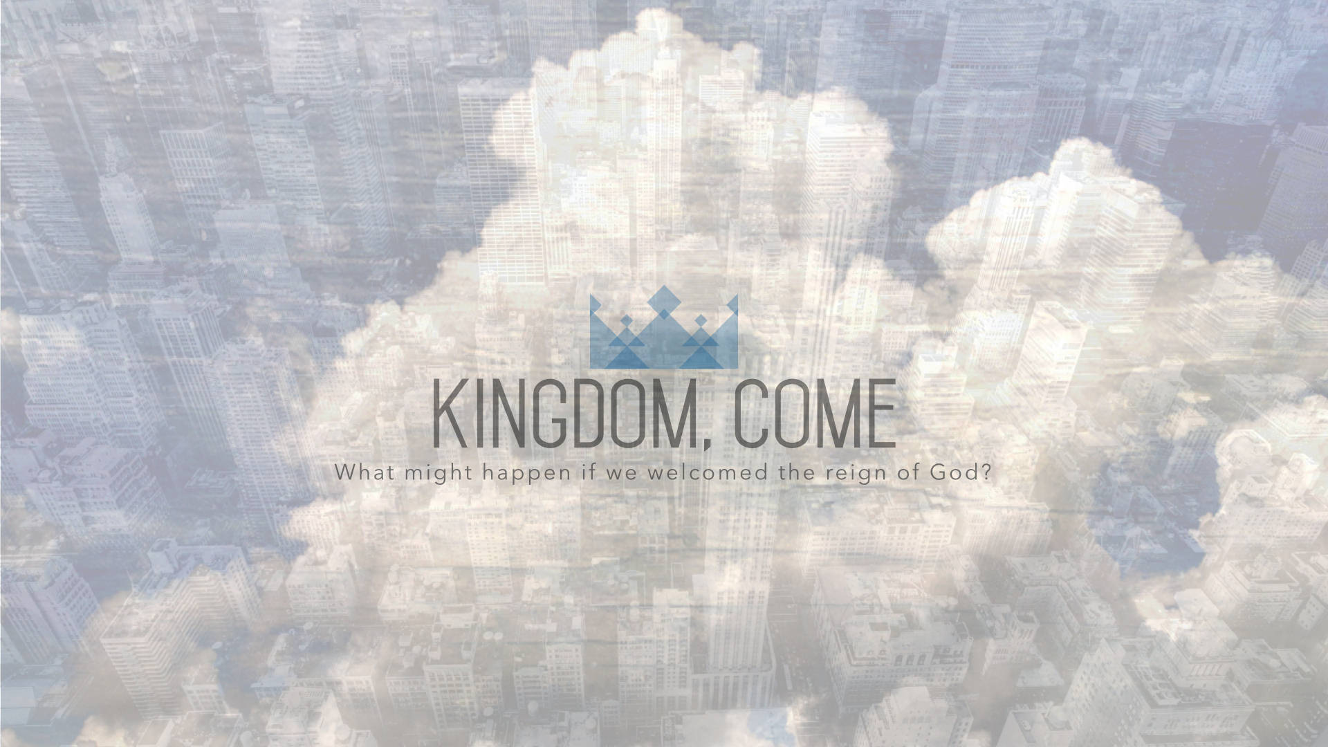 What might happen if we welcomed the reign of God?