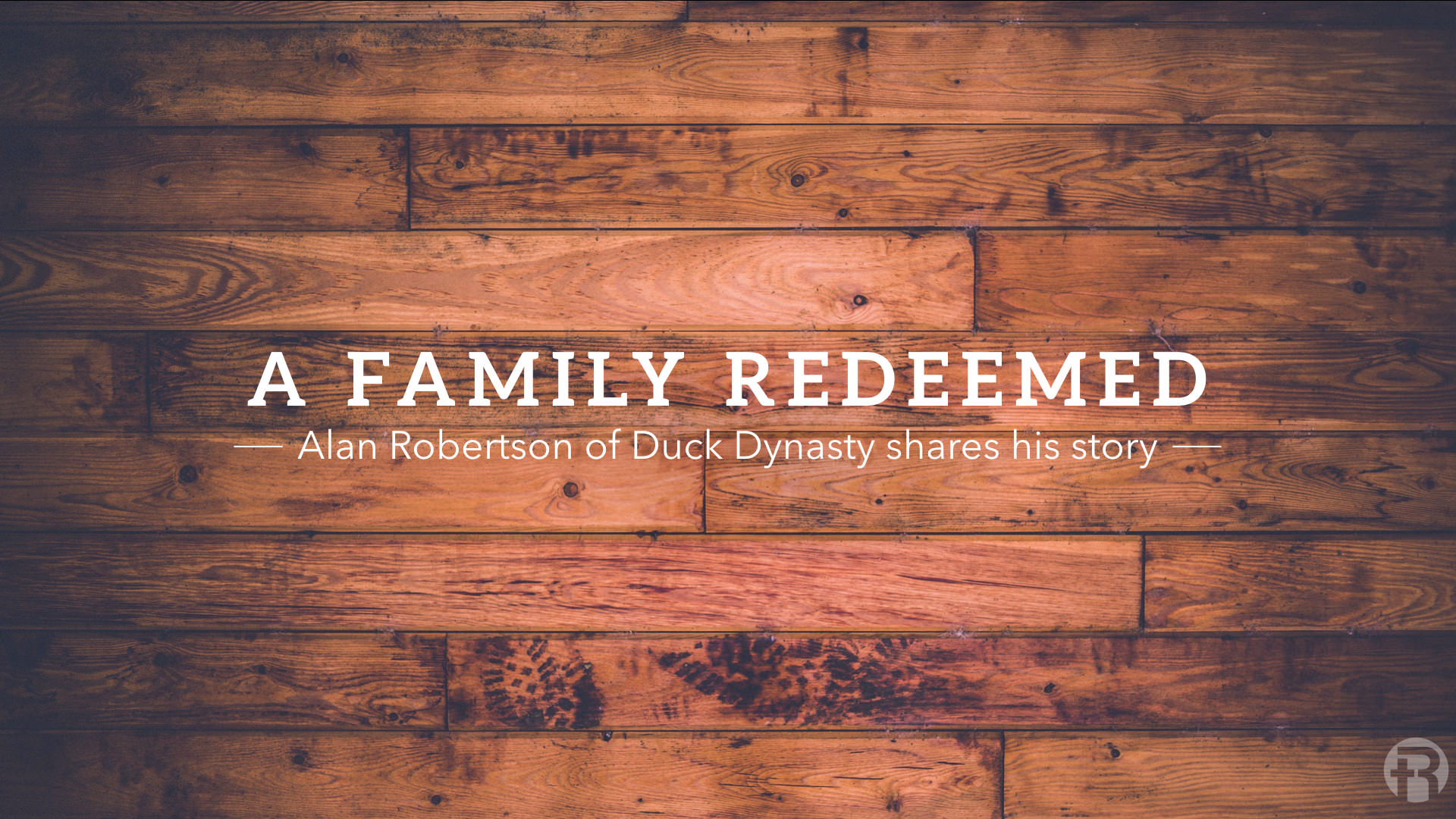 ith humor and candor, Alan Robertson shares the story God has authored in his family.