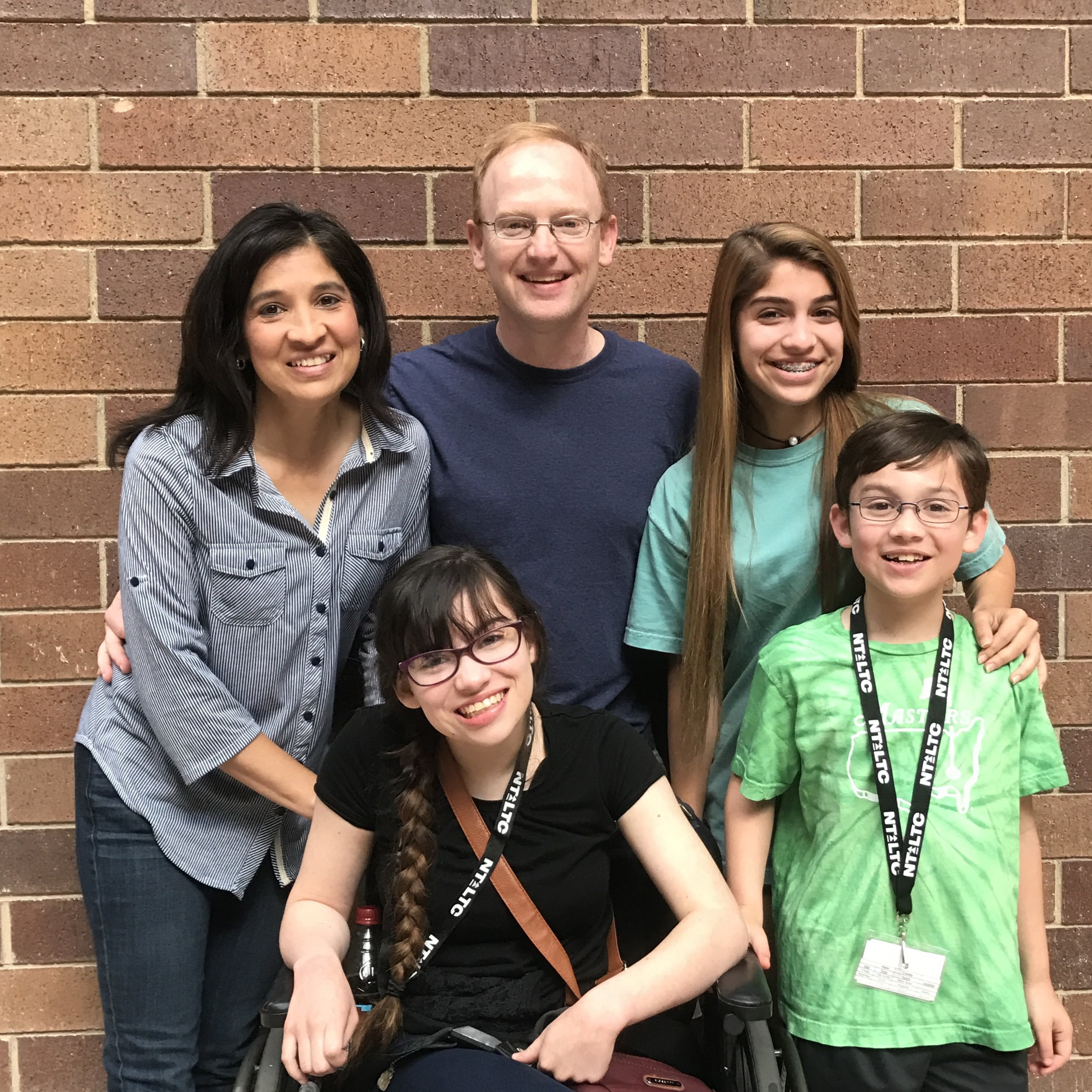 Burke & Tilly, with children Brooke, Katie, & Ryan