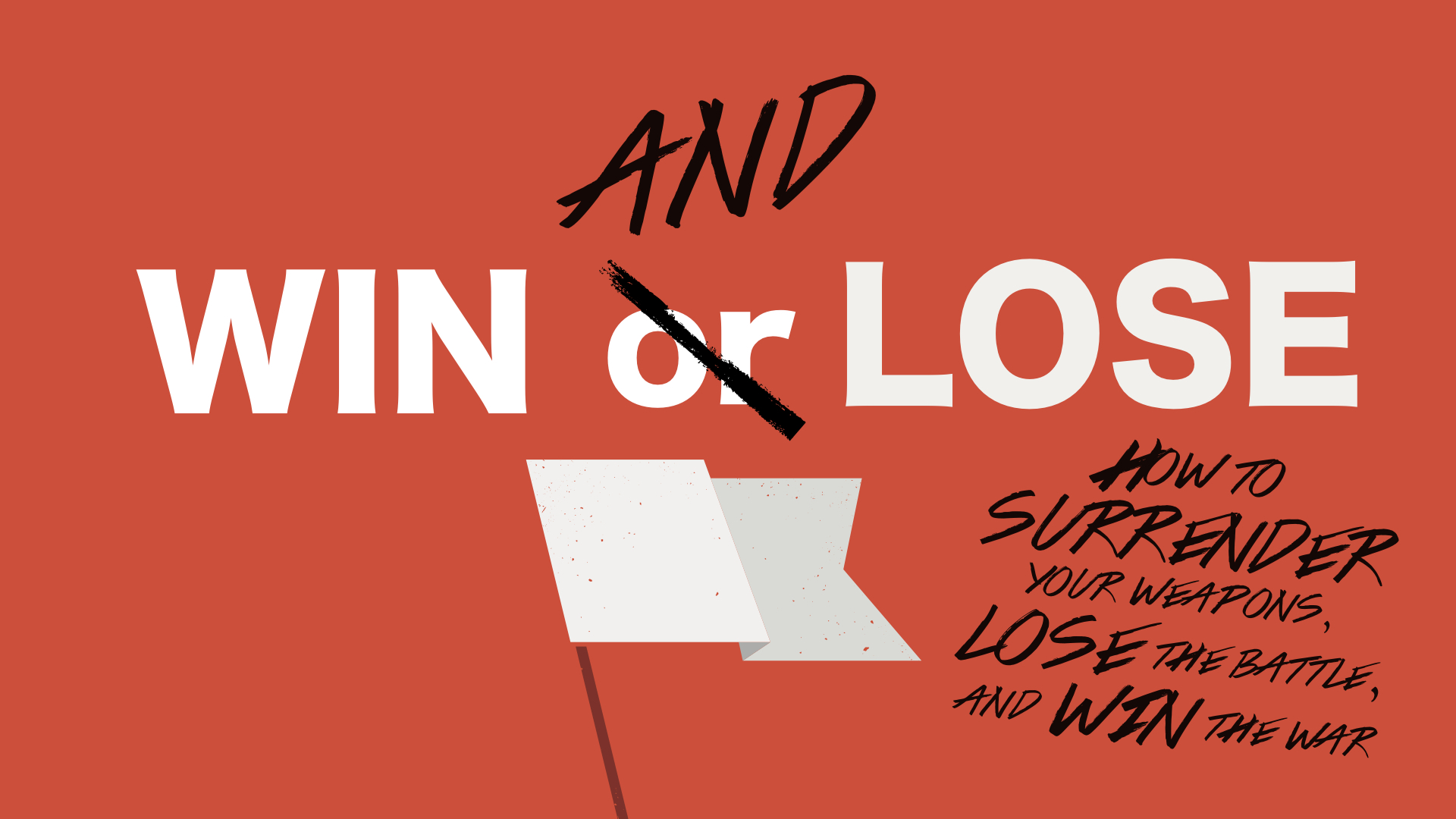 Your're a loser; here's how to start winning again.