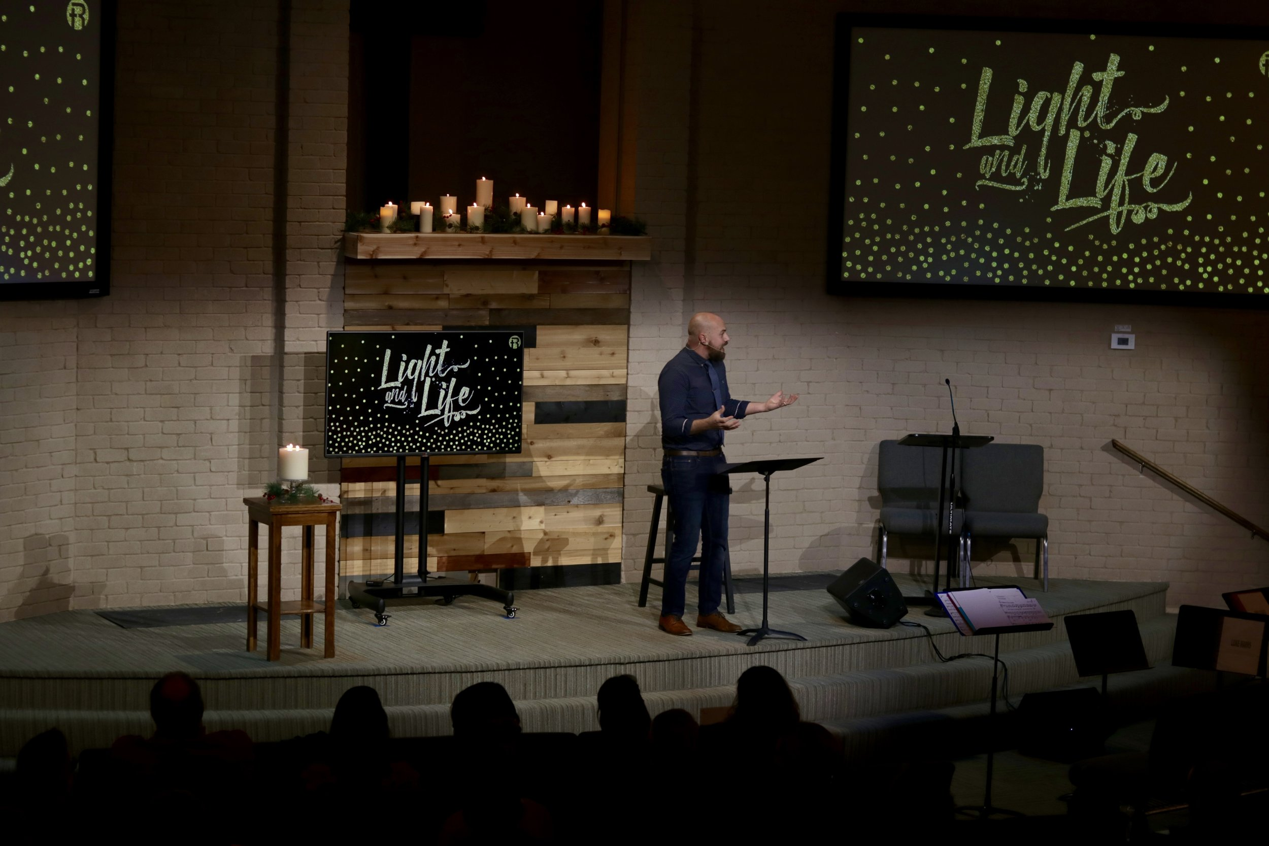 From last year's Christmas worship gathering…