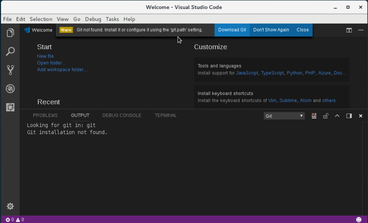 Installing Microsoft Visual Studio Code on CentOS 7 — Not Your Dad's IT