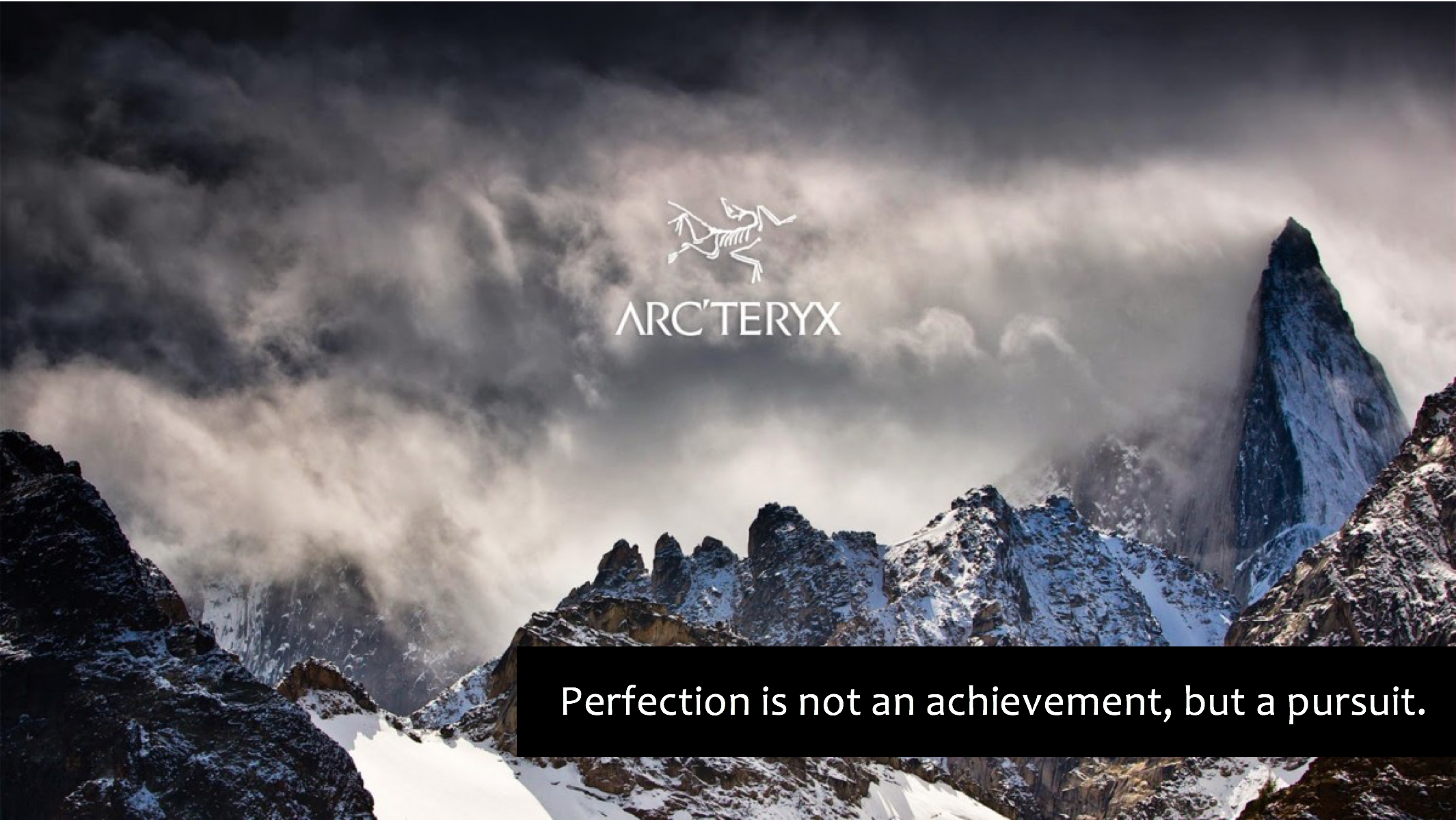 arc'teryx  summer 15 concepting and writing for in-store brand experience