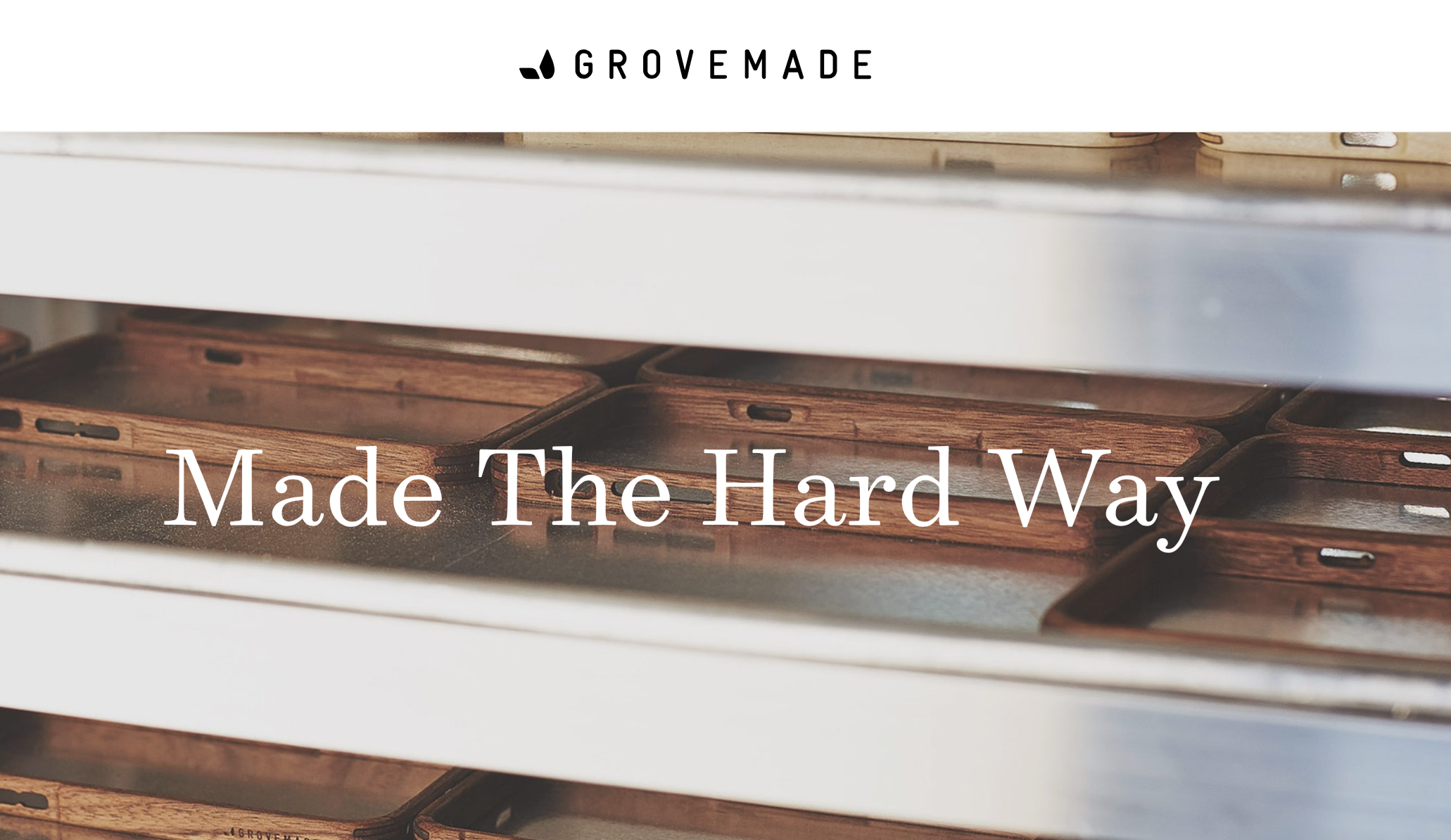 grovemade  spring 14 concepting and writing campaign line and web copy
