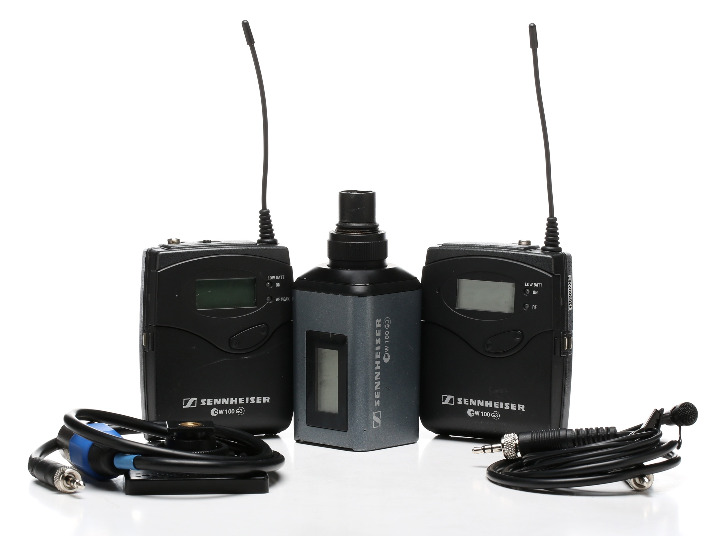 Senheisser G3 wireless mics