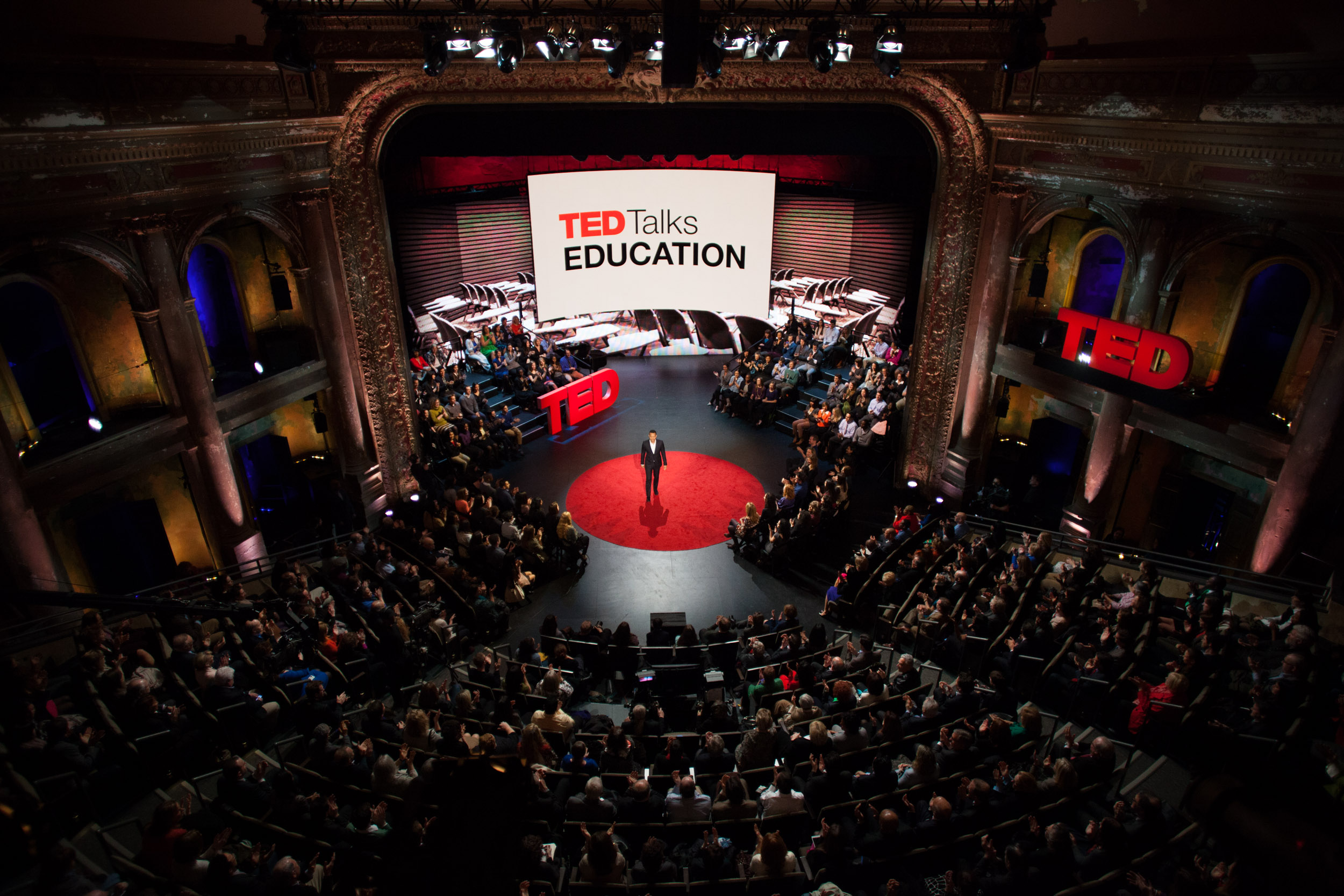 Live Multi-Camera Shoot in the style of a TED Talk