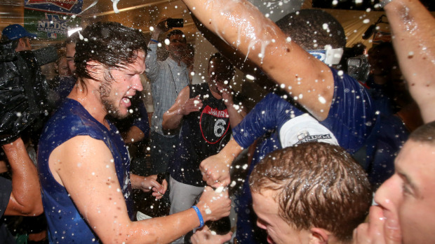 Kershaw becomes the first player ever to receive a $30 million dollar a year (Stephen Dunn/Getty Images)