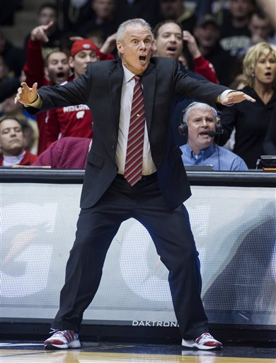 While coaching the Wisconsin–Platteville Pioneers, Bo Ryan won four D3 NCAA National Championships. So far in 13 seasons with the Badgers, Ryan has won 317 games but no trips to the Final Four. (Doug McSchooler/AP)
