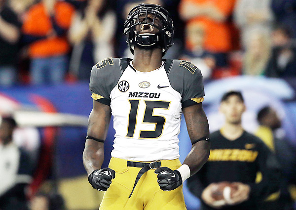 Dorial Green Beckham was the Tigers leading reciever last year with 862 yards and 10 TDs receiving. (AP photo).